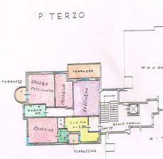 Appartamento centrale di 130mq