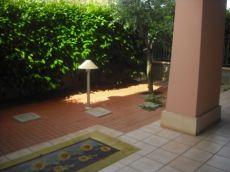 Bilocale arredato con giardino privato